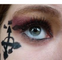 Ed inspired makeup by thearabellablack