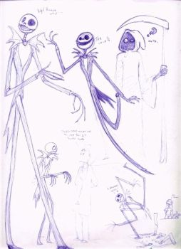 Fan art 4 - king Jack sketches by thalia-is-crazy