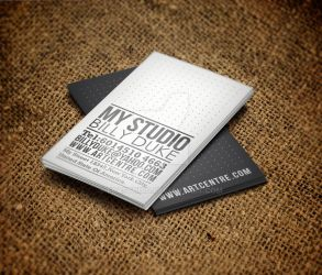 Typo Business Card by FBAstudio