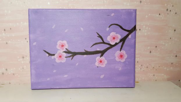 Cherry blossoms by Majalth