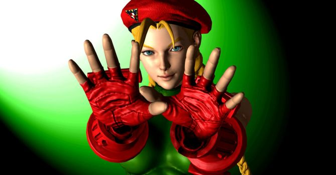 Cammy - Hands Out by Dee15gon