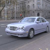 Mercedes Benz E320 in the City by VanishingPointInc