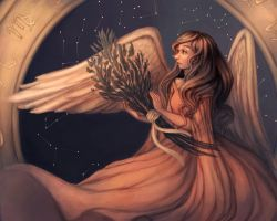 Virgo by blank--mage