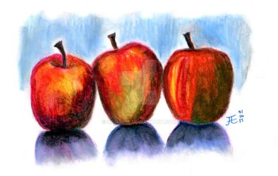 Three Apples by agianna