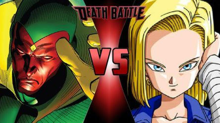Vision vs. Android 18 by OmnicidalClown1992
