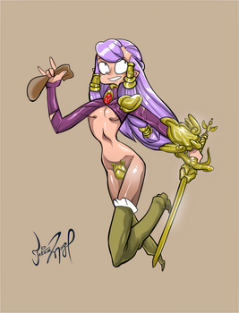 Sexy elf by Mordor-in-love