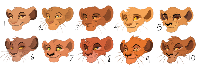 Lion Cub Adopts by Pumpkabo0