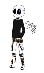 Dice but even edgier by KrystaliaProductions