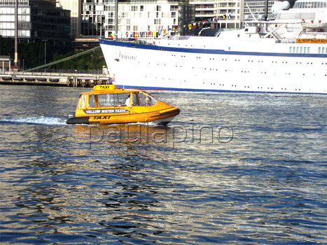 Water Taxi by Paulapino