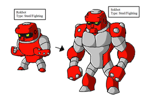 Fakemon: REAL STEEL by Brian12