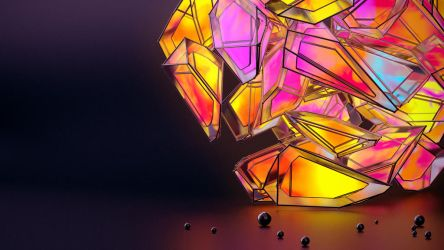 CrystalFracture. by Hausmann