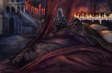 Dark Souls 3 : King and Queen of the Underworld by Siaioneris