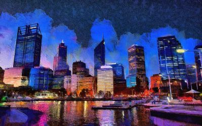Perth Cityscape by montag451