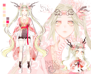 [CLOSED] Cherry Dragon Princess ADOPTABLE by Natx-chan