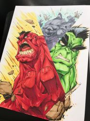 The Incredible HULKS by StevenSanchez