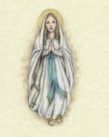 Our Lady of Lourdes by Muko-kun