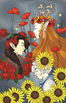 Ladies of Vox Machina Flora by RoughReaill
