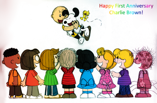 Happy First Anniversary Peanuts Movie! by PuccaFanGirl