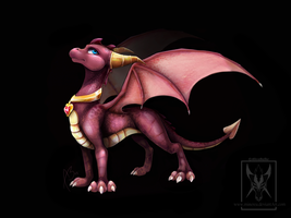 The Legend of Spyro - Ember by Minerea