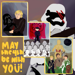 May the 4th be with You by altryturtle