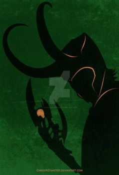 poster - The God of Mischief by ChaosNDisaster