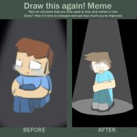 Yay draw this again by Gameaddict1234