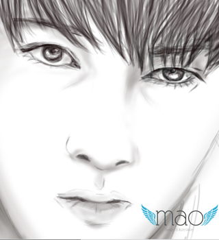 Han Si Hoo Draw Preview by MaochanHime