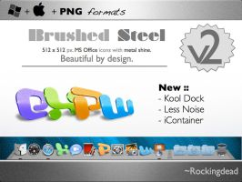 Brushed Steel for Office ver.2 by rockingdead