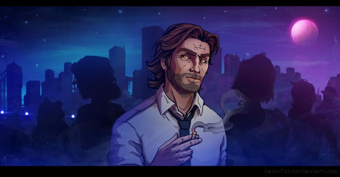 The Wolf Among Us by Kate-FoX