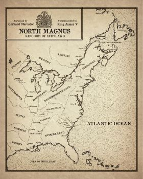 CURRENT: Reality AU: North Mangus 1550 A.D. by SkullSmithy
