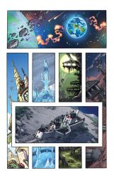 Defenders of Eden #1 pg1 by oICEMANo