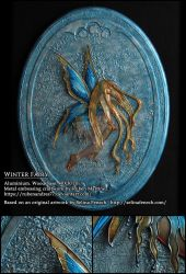 Winter Fairy - metal emboss by Rubenandres77