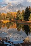 Grand Teton Reflection by papatheo