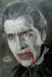 Dracula - Christopher Lee by Jags1585