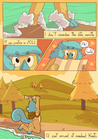 Routes of Kanto - Page 1 [REDRAWN + ANNOUNCEMENT] by DokGilda