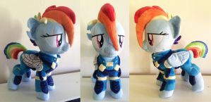 war Au rainbow dash plush by PlushyPuppy