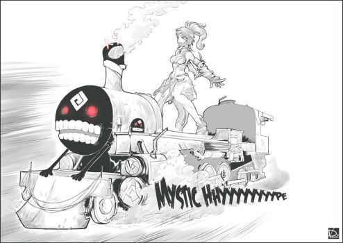 Black Desert Online - Mystic Hype Train by NeoyoshiAETH