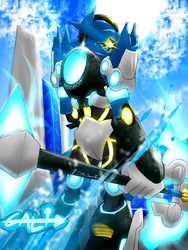 [Bionicle: Reborn] GALI. Full power. by IlReSanmto