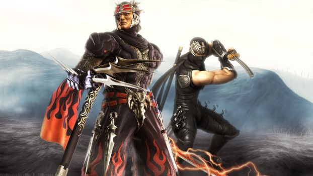 Ninja Gaiden Ode to Genshin by Billysan291