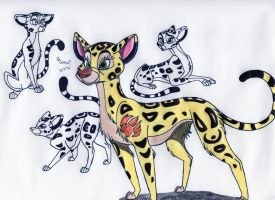 Fuli the Cheetah by SegaDisneyUniverse