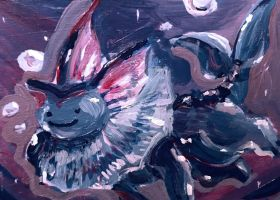 Ditto Vaporeon ATC (FOR SALE!) by CassowaryRoom