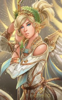 Winged Victory Mercy by rchella