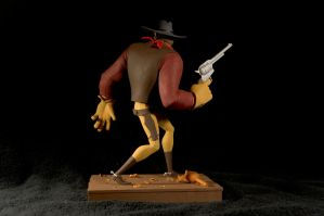 The Gunfighter-painted05 by clarkartist