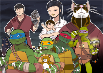 TMNT S05E10 - Lone Rats and Cubs by KameBoxer