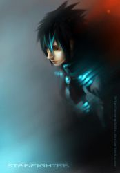 Cain from Starfighter by xRompKidx