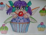Cupcake Fairy by Laineyfantasy