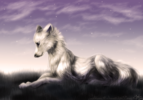 Evening rest by LillHanna