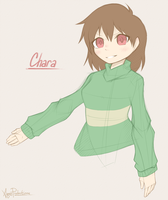 Undertale - Chara Doodle by AquasProductions