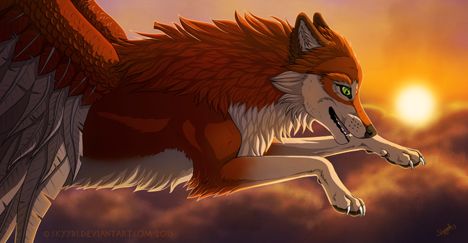 Above The Clouds (+video) by Skyybi