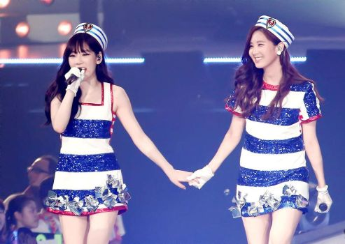 Taeyeon and Seohyun 3rd Japan Tour by iloveyou1989